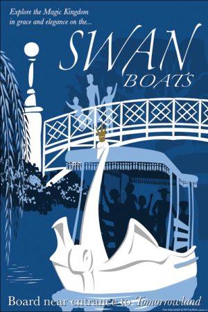 Swan Boat poster
